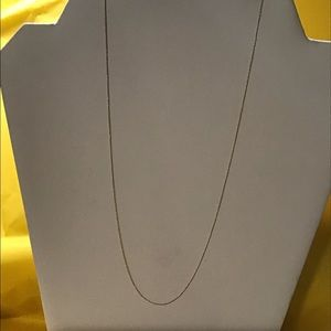 """10K gold chain necklace, 20"""", EUC, solid gold"""